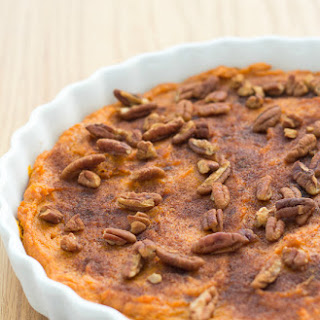 Healthy Sweet Potato Casserole.
