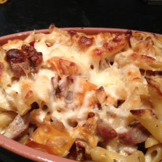 Harvest Baked Penne with Sausage.