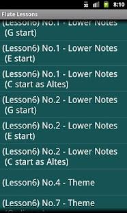 Flute Lessons - Altés No.1- screenshot thumbnail