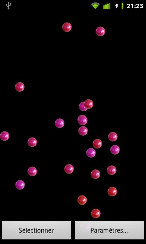 Bouncing Balls Live Wallpaper- screenshot