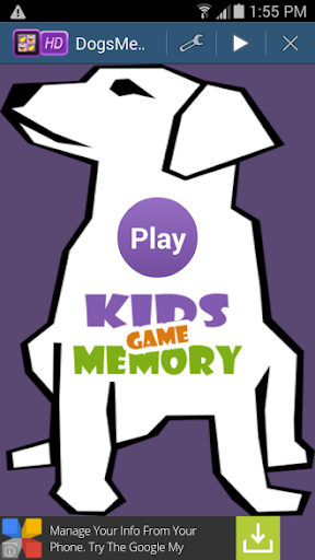 Dogs Memory Game