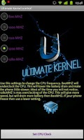 Screenshot of Ultimate Kernel Control