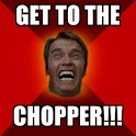 Get to the chopper!!! icon