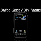 Drilled Glass ADW Theme