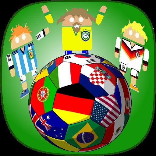 世界のサッカーロボットの背景 個人化 App LOGO-APP試玩