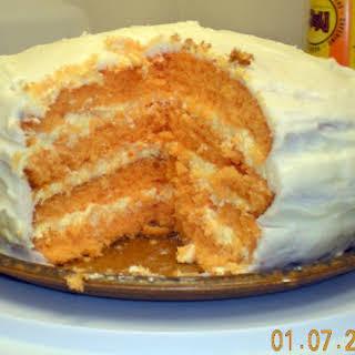 Orange Dreamsicle Cake II.