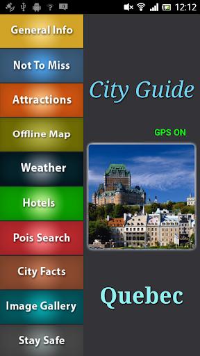 Quebec Offline Guide