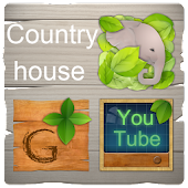CountryHouse_GO Launcher Theme