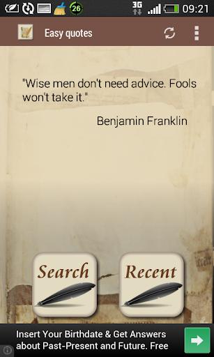 Easy quotes