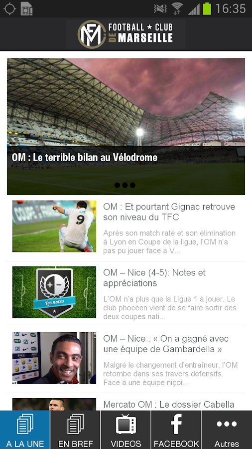 Football Club de Marseille- screenshot