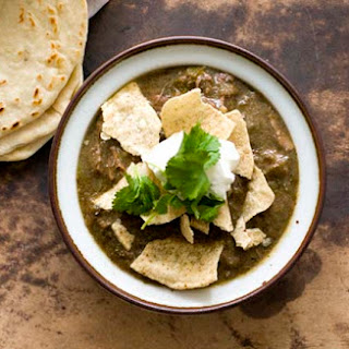 Chile Verde Con Carne (beef Green Chili)