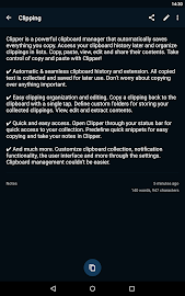 Clipper Plus with Sync Screenshot 9