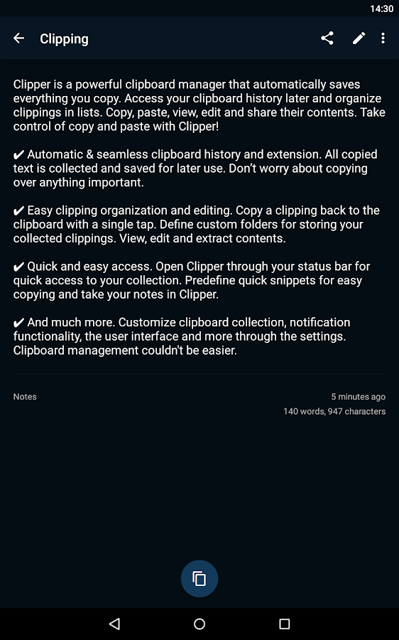 Clipper Plus with Sync - screenshot