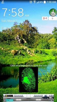 Joke good lock screen - screenshot