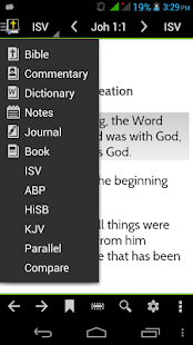 MySword Bible - screenshot thumbnail
