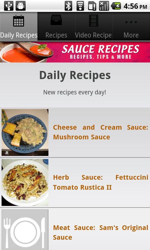 Sauce Recipes!- screenshot