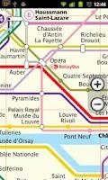 Screenshot of Paris Subway
