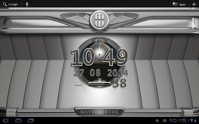 Digi Clock Widget Platinum APK screenshot thumbnail 7