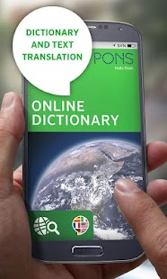 PONS Online Dictionary - screenshot thumbnail