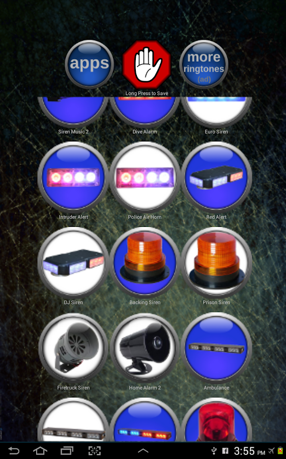 Siren Ringtones- screenshot