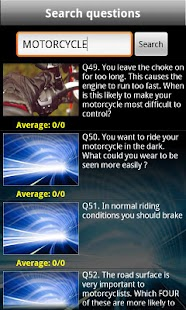 UK Motorcycle Theory Test Free - screenshot thumbnail