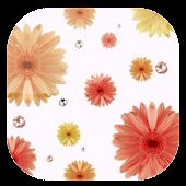 F公式 ORIGINAL 壁紙-Girls Flower