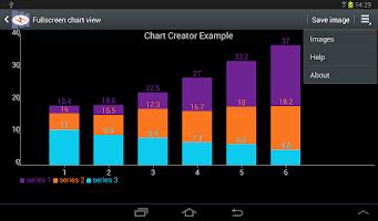 Screenshot of Chart Creator