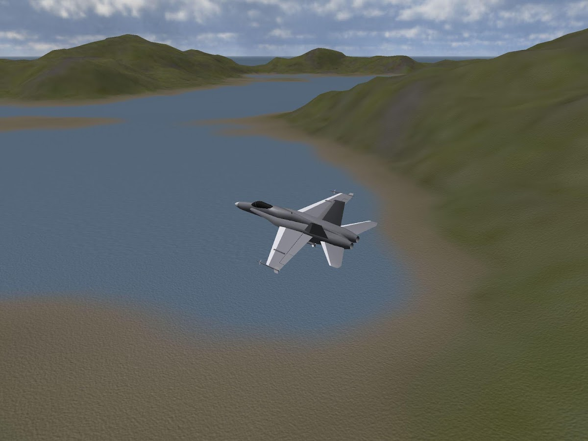 PicaSim: Free flight simulator- screenshot
