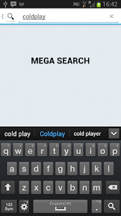 Mega Search- screenshot thumbnail