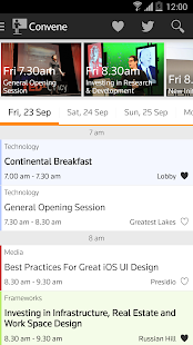Thomson Reuters Convene- screenshot thumbnail
