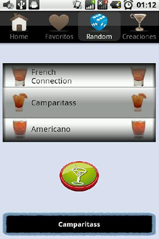 Cocktail España - screenshot