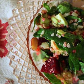 Roasted Beet & Quinoa Salad..