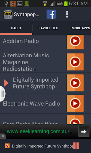 【免費音樂App】Synthpop Music Radio-APP點子