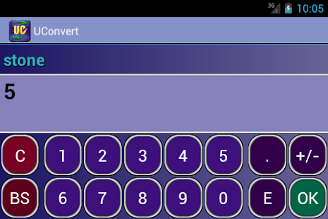 UConvert - unit converter - screenshot thumbnail
