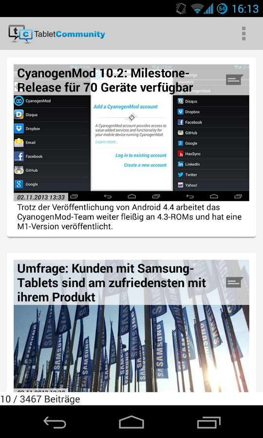 TabletCommunity.de- screenshot