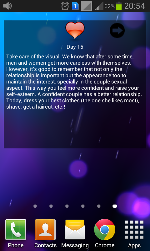 Daily love advices- screenshot