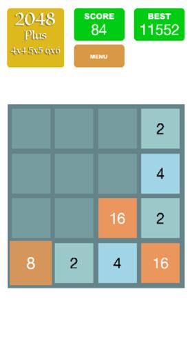 2048 Plus 4x4 5x5 6x6