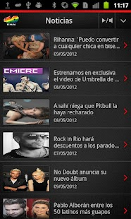 Los 40 para Android - screenshot thumbnail