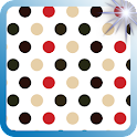 Moody Polkadot Pattern Prints icon