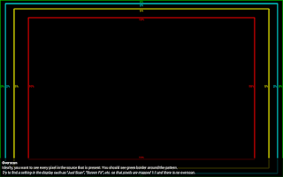 Screenshot of Screen test