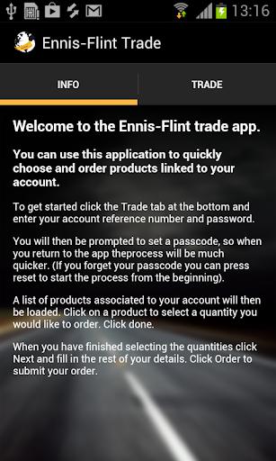Ennis-Flint Trade