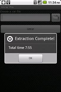 Unrar Pro- screenshot thumbnail