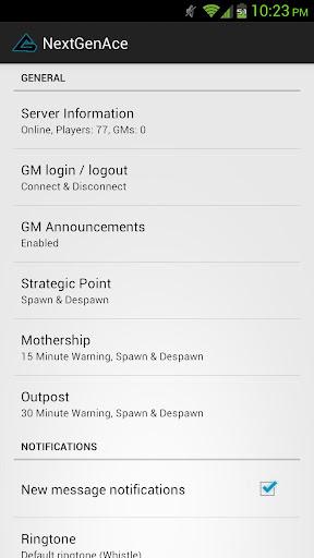 NextGenAce - Game on the go