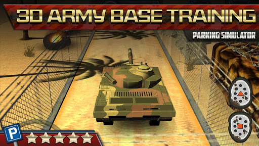 Ground War Tank 3D Parking Sim