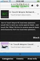 Screenshot of In Touch Wayne NC