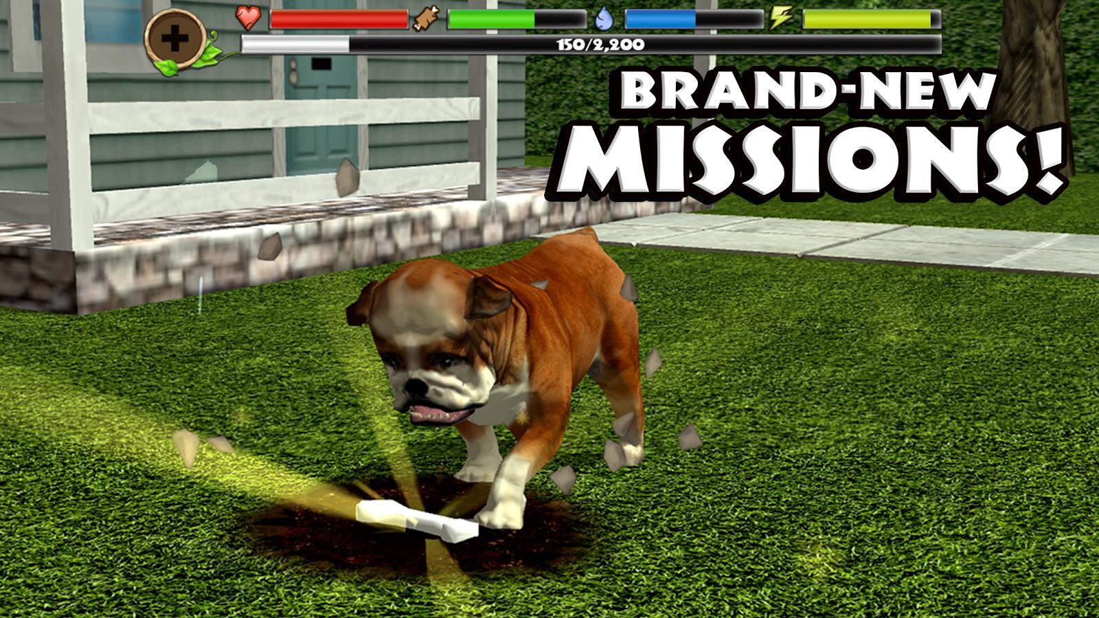 Screenshots of Stray Dog Simulator for iPhone