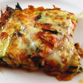 Roasted Zucchini Torta with Tomatoes and Mozzarella Recipe
