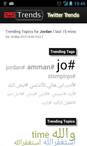 Twitter Trends Arabia
