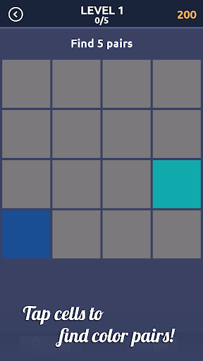 Memory - match colors