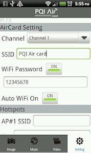PQI Air Card+- screenshot thumbnail